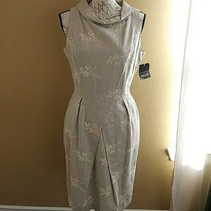 Beautiful linen Ellen Tracy dress